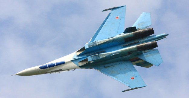 Karadeniz'de Rus Savaş Uçağı Düştü
