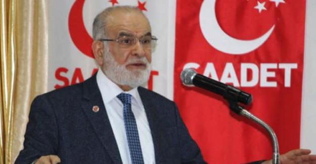 Temel Karamollaoğlu: ''İktidara Gelince Yatırımları Durduracağım''