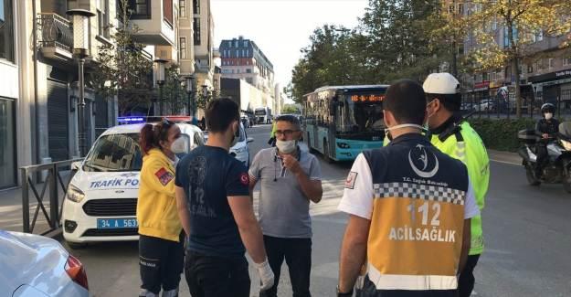 Karantinada Olması Gereken Otobüs Şoförü İş Başında Yakalandı