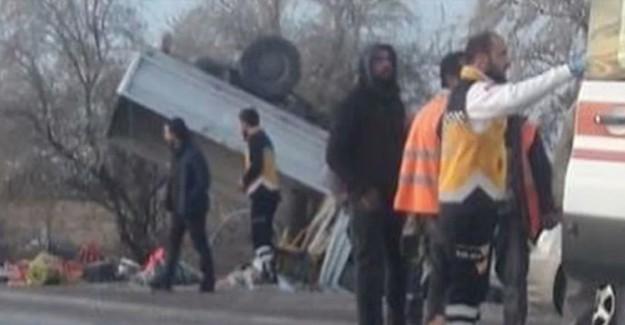 Kayseri'de Feci Kaza! Çok Sayıda Yaralı Var