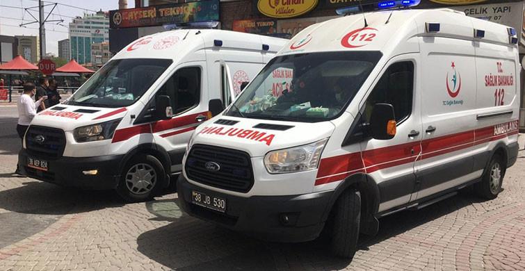 Kayseri'de Tüp Parlaması: 2 Yaralı