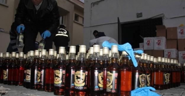Kırklareli'de Sahte İçki Kör Etti