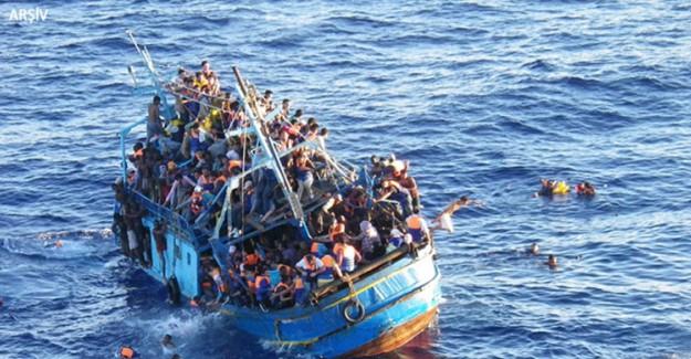 Korkunç Olay Sonucu Tekne Battı! 100 Ölü