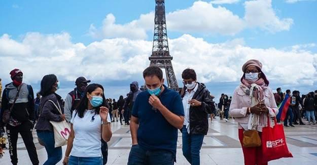 Koronavirüsten Fransa'da Yeni Rekor