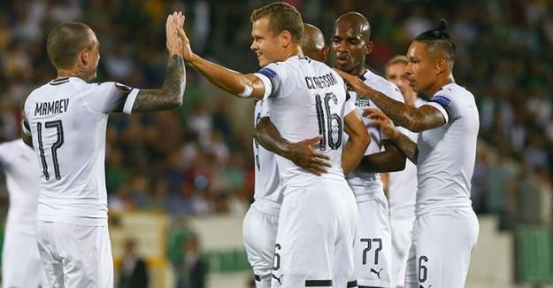 Krasnodar İkinci Yarıda Fişi Çekti!