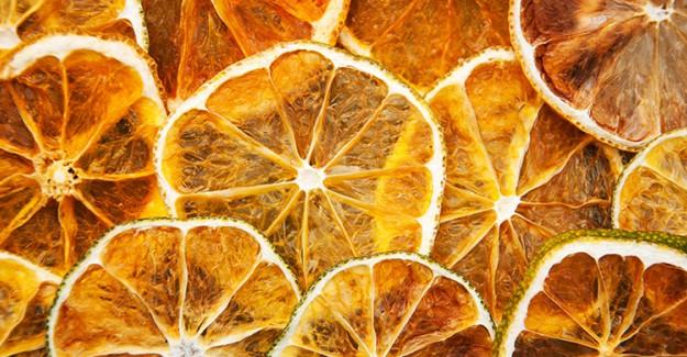 Kurutulmuş Portakal İle Evinizi Dekore Edin!