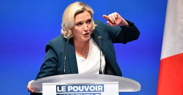 Le Pen, Türkiye Hususunda Rakibi Macron'a Destek Oldu