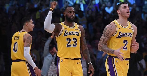 LeBron James Yıldızlaştı, Lakers Kazandı!