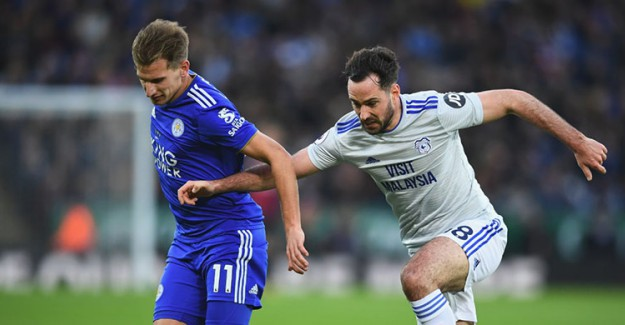 Leicester City'ye Evinde Cardiff Şoku!
