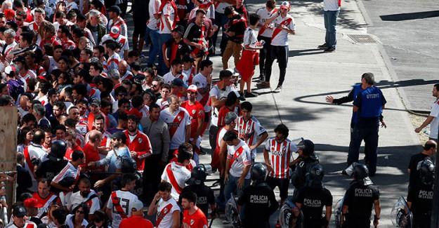 Libertadores Finaline İkinci Erteleme!