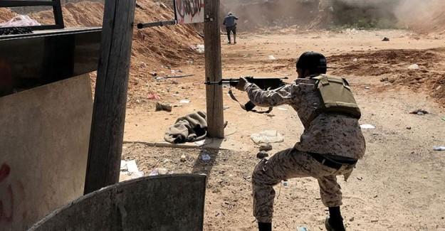 Libya'da Çıkan Çatışmada 10 Hafter Milisi Öldürüldü