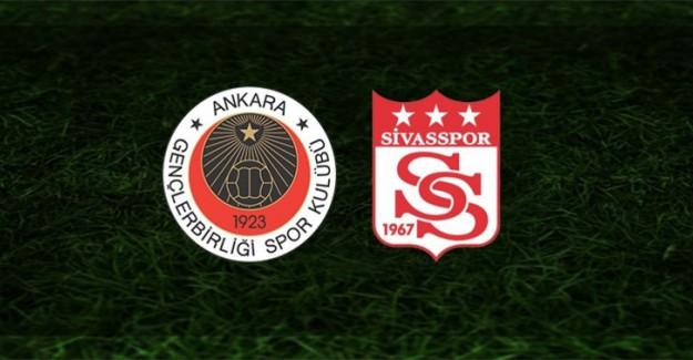 Lider Sivasspor Deplasmanda Gençlerbirliği'ne Konuk Oluyor
