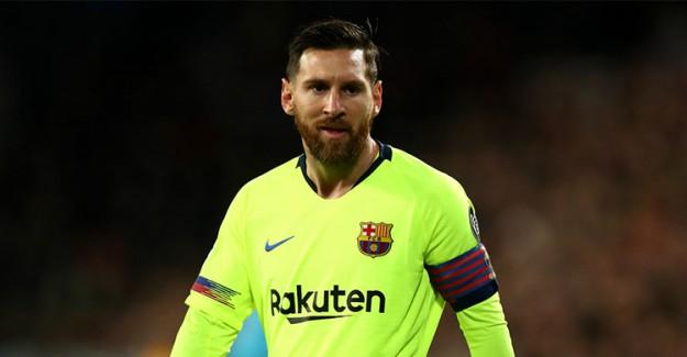 Lionel Messi, Şampiyonlar Ligi'nde Haftanın Futbolcusu Seçildi!