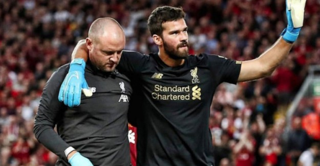 Liverpool'un Kalecisi Alisson 8 Hafta Yok