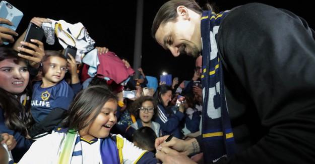 Los Angeles Galaxy, Ibrahimovic'i Transfer Etti!