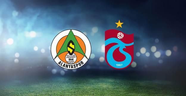 Maç Sonucu: Alanyaspor: 2 - Trabzonspor: 2