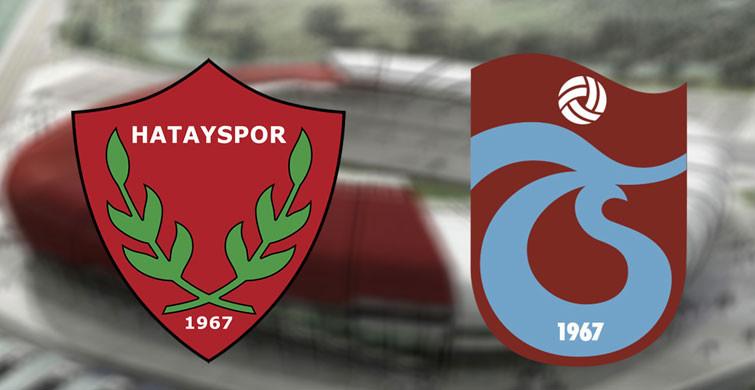 Maç Sona Erdi! Trabzonspor 1-0 Hatayspor
