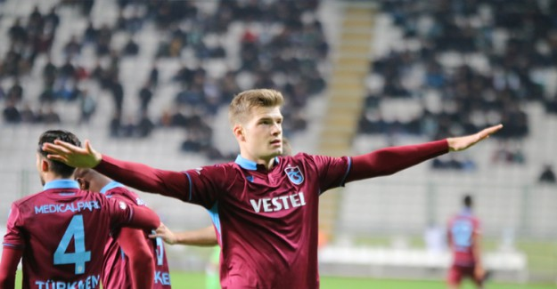 Maç Sonucu.. Konyaspor: 0 - Trabzonspor: 1