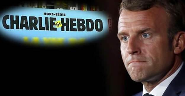 Macron'dan Charlie Hebdo'nun Hz. Muhammed Karikatürleri Kararına Destek