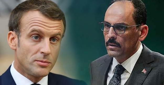 Macron'un İslam Düşmanlığına İbrahim Kalın'dan Yanıt