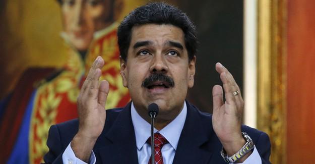Maduro'dan Papa Franciscus'a Mektup