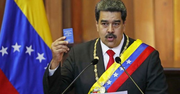 Maduro'dan Türkiye'ye ve Rusya'ya Teşekkür