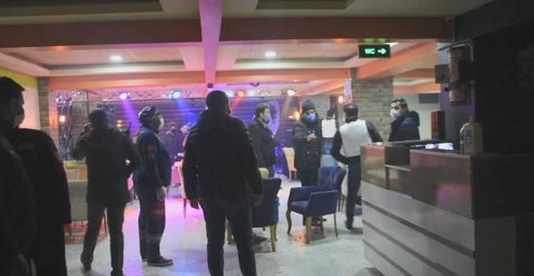 Malatya'da Rehin İhbarına Giden Emniyet, 20 Kişilik Partiyi Bastı