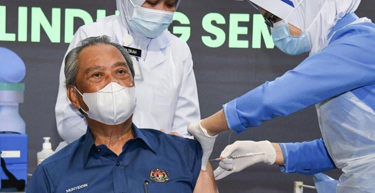 Malezya'da Kovid-19 Aşılamaları Başladı