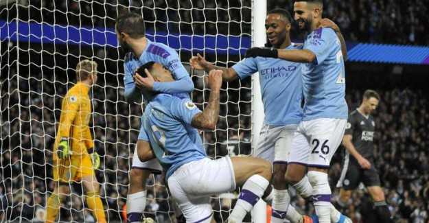 Manchester City 3 - 1 Leicester City