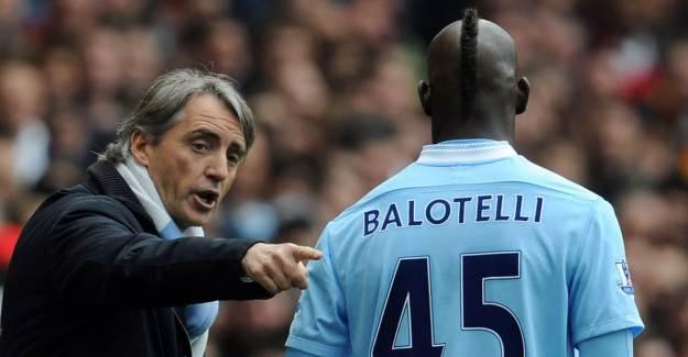 Mancini: 'Balotelli Yeteneğini Heba Ettiğini Anlayacak'