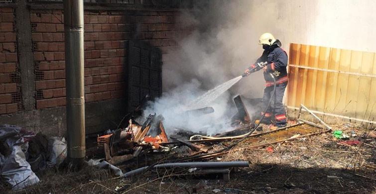 Manisa'da Çıkan Yangın Paniğe Neden Oldu