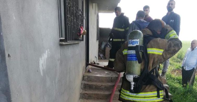 Mardin'de Çıkan Yangın Korkuttu