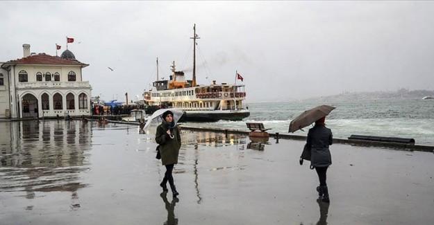 Marmara Bölgesi İçin Yağmur ve Sağanak Uyarısı!