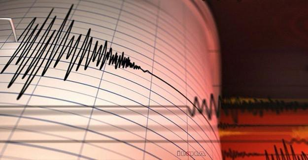 Marmara Denizi'nde Gerçekleşen Deprem İstanbul'da Hissedildi!