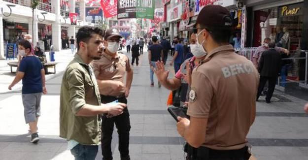 Maske Takmayan İş Yerine Kapama Cezası