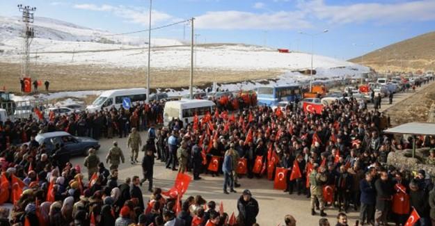 Mehmetçik Afrin'e Dualarla Uğurlandı!