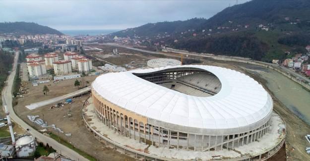 Merakla Beklenen Stadyum Bitiyor