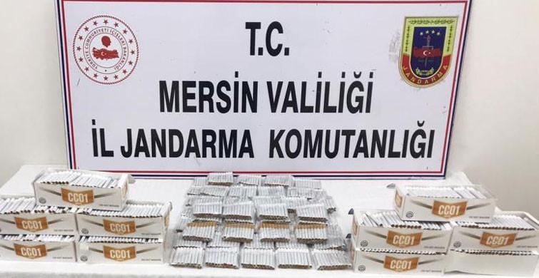 Mersin'de Sahte İçki Ve Kaçak Makaron Yakalandı