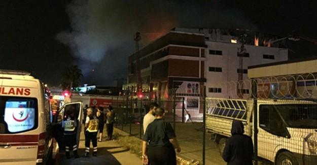 Mersin'de Yangın