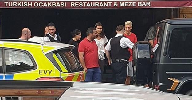 Mesut Özil'e Londra'da Bıçaklı Saldırı Girişimi