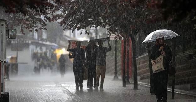 Meteoroloji Saat Verip Uyardı! Çok Şiddetli Geliyor