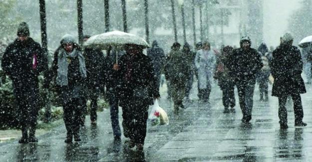 Meteoroloji Uyardı; Marmara'ya Sağanak Yağış Geliyor
