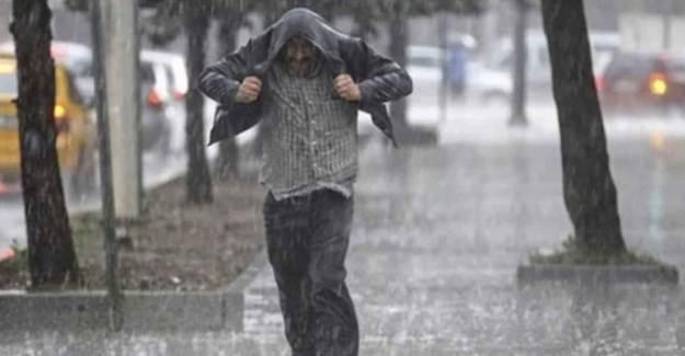 Meteorolojiden 5 Kent İçin Sağanak Yağış Uyarısı