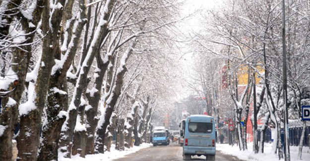 Meteorolojiden 8 İle Yoğun Kar Yağışı Uyarısı!