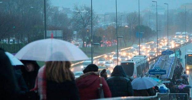 Meteoroloji'den İstanbul İçin Son Dakika Uyarısı!