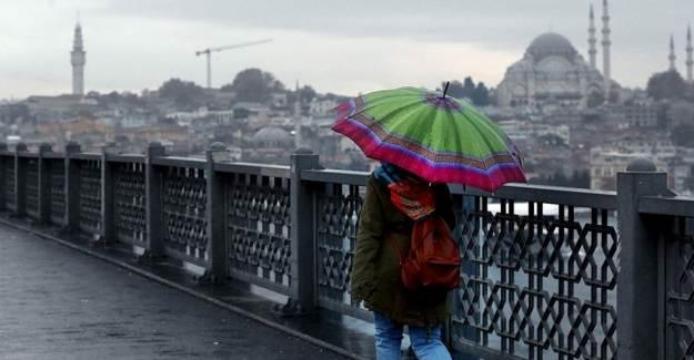 Meteoroloji'den İstanbul'a 'Sarı' Uyarı
