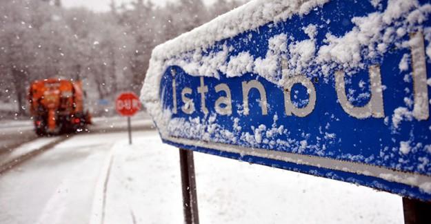 Meteoroloji'den İstanbul'a Son Dakika Uyarısı; Kar Geliyor