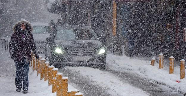 Meteoroloji'den Marmara Bölgesine Yağmur ve Kar Uyarısı