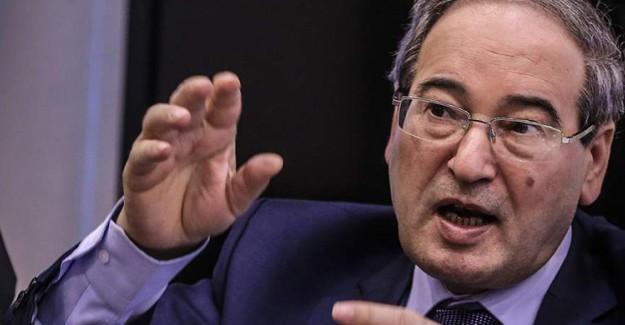 Mikdad: Suriye Kimyasal Silah Kullanmadı ve Kullanmayacak!