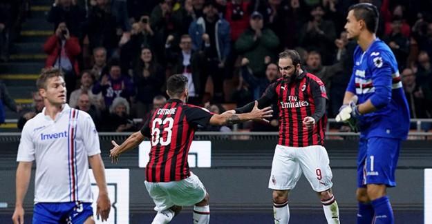 Milan 3 - 2 Sampdoria Maç Özeti ve Golleri İzle